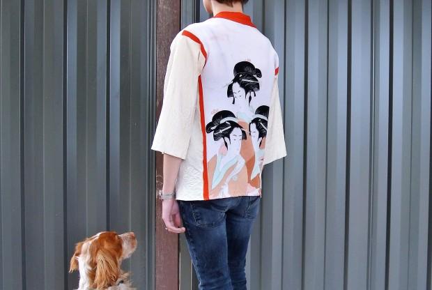 kimono pup